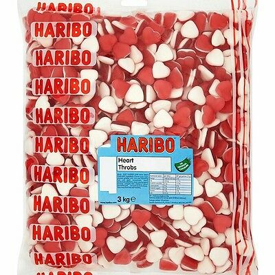 HARIBO Heart throbs valentines pick and mix wedding favours retro sweets