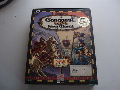 Conquest of the New World   Vintage PC Games