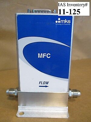 MKS GE50A001203RBV010 Mass Flow Controller 2000 sccm He (Used Working)