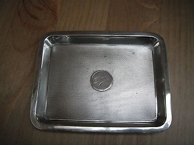 Asprey solid silver  trinket tray, London 1920