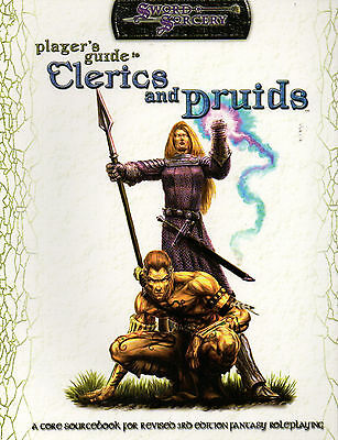 Sword & Socery-Player´s Guide-Clerice and Druids-Fantasy-RPG-Sourcebook-new-rare