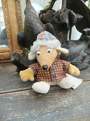 Adorable Bungo Womble Beanie Baby by Elizabeth Beresford With Tags