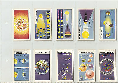 Brooke Bond - Set of Out into Space (issued with)