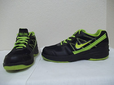 Womens Ying Long Xinaolin Heelys Style Black Green Sneakers Skate Shoes Size 8.5