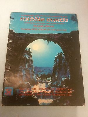 Middle Earth CAMPAIGN AND ADVENTURE GUIDEBOOK. Map missing/copy Merp Roleplaying