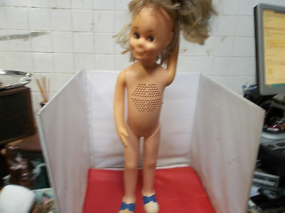 i21 Vintage 1961 Mattel Charmin Chatty Talking Doll 24 Inches NOT Chatty Cathy