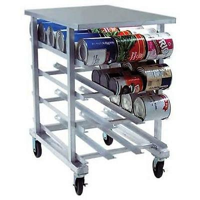 Eagle Group OCR-10-4A Half Size Welded Aluminum Can Rack with Aluminum Top