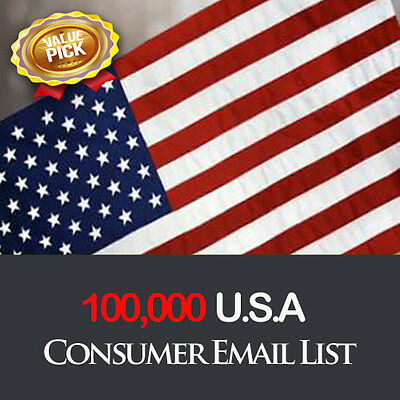 Top Email List 100,000 USA Direct