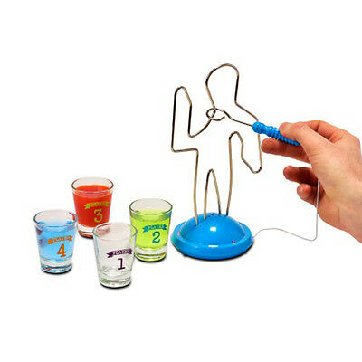 Buzz Wire Drinking Party Game Adult Novelty Shot Glasses Gift Stocking Filler
