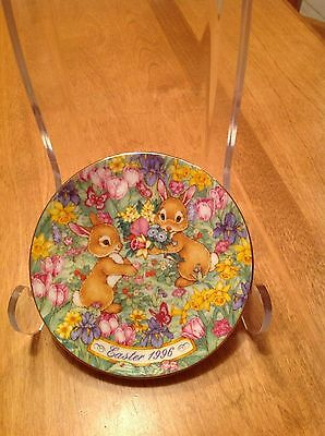 """1996 Avon Easter Plate """"Easter Bouquet"""""""