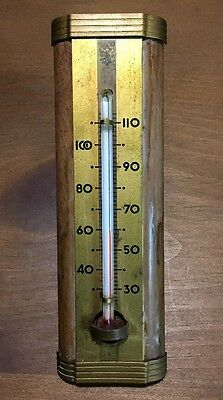 Vintage Wooden Taylor Thermometer
