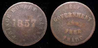 CANADA 1857 Prince Edward Island - Self Government and Free Trade Token