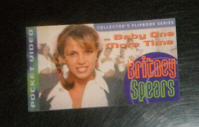BRITNEY SPEARS pocket video flipbook Baby one more time