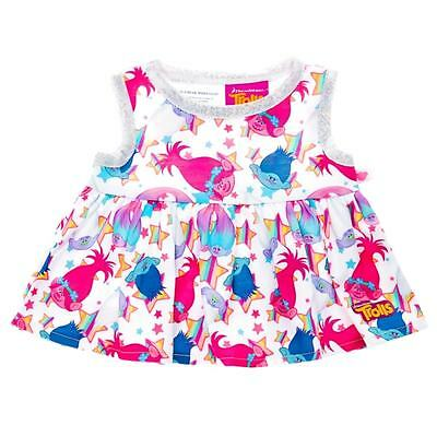 Build a Bear Clothing ~ New DreamWorks Trolls Poppy Character Dress