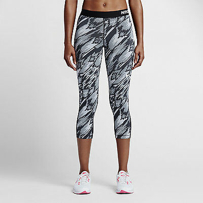 New Women's Nike Pro OverDRY Capris/ 3/4 leggings/ tight bottoms/gym/run/yoga