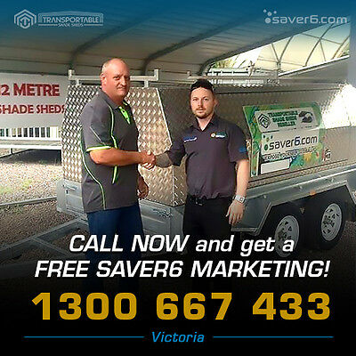 Business for Sale - Shade Sheds, Mobile Trailer Business, Finance Available, VIC