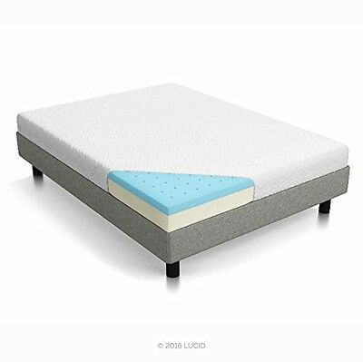 Lucid® LUCID 6 Inch Memory Foam Mattress - Dual-Layered - CertiPUR-US Certified
