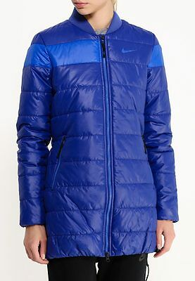 New Nike Women's VICTORY PADDED JACKET-MID coat/warm/pockets/premium/thermore