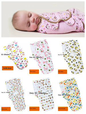 Newborn Baby Swaddle Wraps/Blanket/Sleeping Bag- Cotton