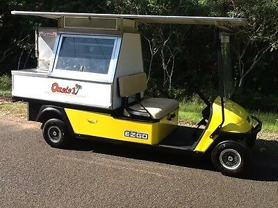 Golf cart buggy/ pie cart catering vehicle/food vending & Trailer