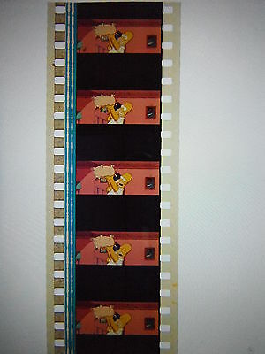 "The Simpsons 35mm Unmounted film cells ""Homer and Spiderpig"""