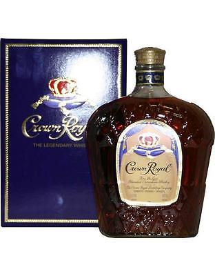 Crown Royal De Luxe Canadian Whisky 1000mL