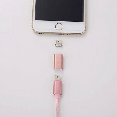 Lightning Charging Charger Cable Magnetic Adapter For Apple iPhone 6 7 Plus 5S