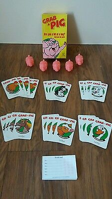 "Grab A  Pig Card Game ""original"""