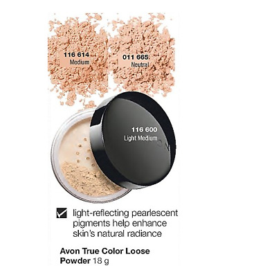 AVON Ideal Flawless Loose Powder **18g** - Pick your shade **New**