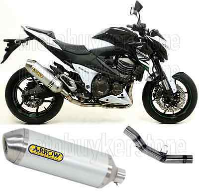 Arrow Kit Muffler Exhaust Racetech Aluminium Kawasaki Z800 2013 13 2014 14