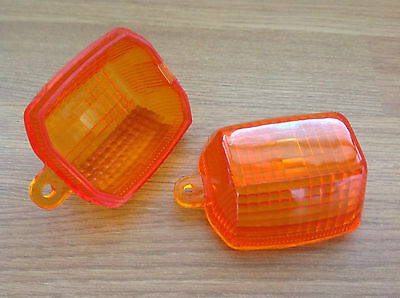 Kawasaki ZX7R ZX7RR ZX750 Indicator Lens Pair of New Lenses 1996-2003