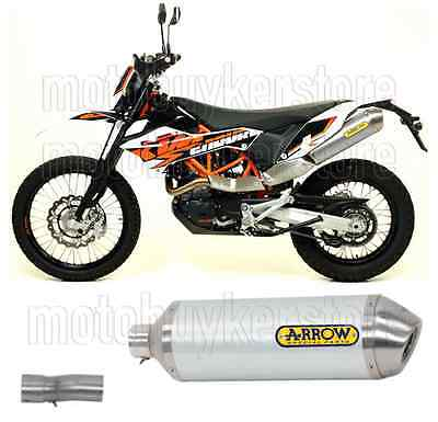 Arrow Kit Muffler Exhaust Racetech Aluminium Ktm 690 Enduro R 2011 11 2012 12