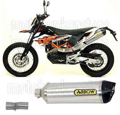 Arrow Kit Muffler Exhaust Racetech Aluminium Carby-Cup Ktm 690 Enduro R 2013 13