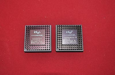 INTEL Overdrive 486DX2 - 66   2 for the price of 1