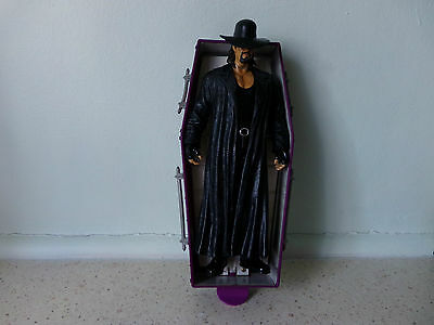 Wwe Undertaker & Rising Coffin Set..only Been On Display And Not Used