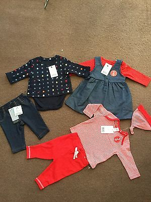 Next Baby Girl Clothes Bundle  Bnwt 0-3 Months