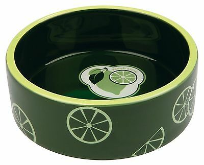 Fresh Fruits Ceramic Bowl for Dogs or Cats Food Water Dish 0.8L 16 cm