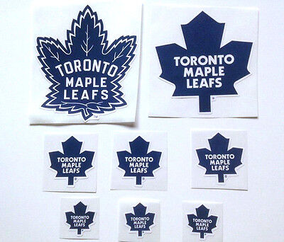 Toronto Maple Leafs Sticker Decals Lot NHL Official Licence Product Stickers NEW
