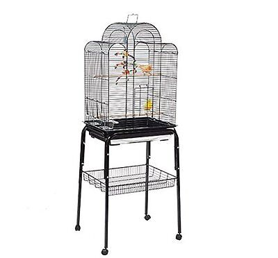 Liberta Pagoda Budgie Canary Finch Black Cage With C1 Stand …