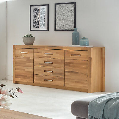 sideboard fenja anrichte schrank kommode in wildeiche. Black Bedroom Furniture Sets. Home Design Ideas