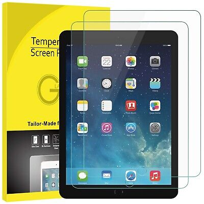 2x Apple iPad Mini 1 2 3 4 2019 Tempered Glass Full Screen Protector Film Guard