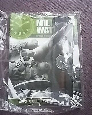 New Eaglemoss WW2 Military Watch German SS Waffen Soldiers Watch 1940 With Mag