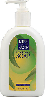 Moisture Soap Pear, Kiss My Face, 9 oz