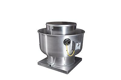 Captive-Aire Systems, Inc. Commercial High Pressure Upblast Exhaust Fan 1.5 HP