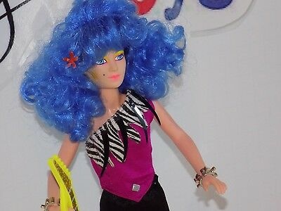 1986 Hasbro Jem and the holograms - Misfits Stormer doll - EXCELLENT CONDITION