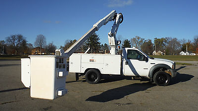 2006 Ford F550 43' AT37G BUCKET TRUCK BOOM UTILITY SERVICE