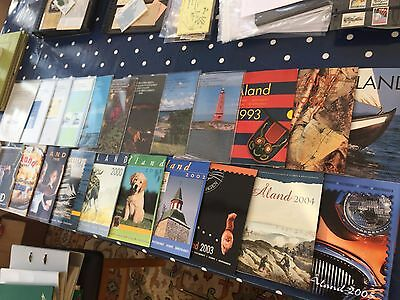 Aland Finland 22 different year packs used between 1984 - 2005 complete  wow