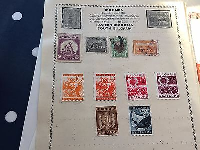 Bulgaria nice assortment of stamps from multiple collectors on pages