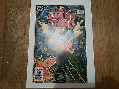 SWAMP THING #20 - 1st  ALAN MOORE !! FINE/ VERY FINE  RED HOT KEY!!