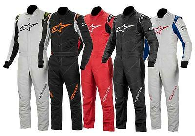 "Alpinestars GP Race Boot Cut Suit - ""Silver Blue Only"" Size USA 42"